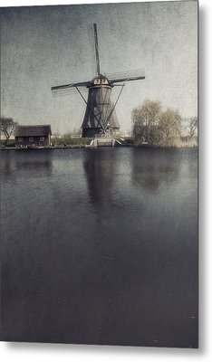 Windmill  Metal Print by Joana Kruse