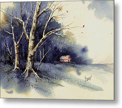 Winter Tree Metal Print by Sam Sidders