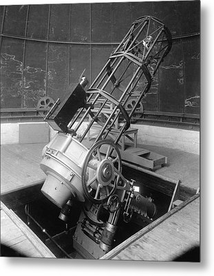 30-inch Telescope, Helwan, Egypt Metal Print by Science Photo Library