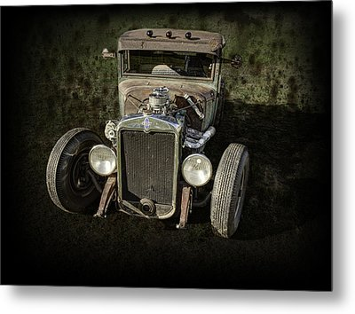 31 Chevy Rat Rod Metal Print