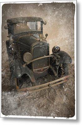 '31 Ford Diecast Truck Model Metal Print