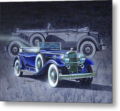 32 Packard Metal Print by Richard De Wolfe