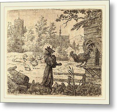 Allart Van Everdingen Dutch, 1621-1675 Metal Print by Litz Collection