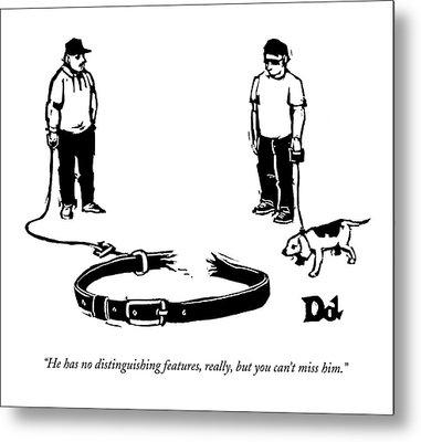 New Yorker September 28th, 2009 Metal Print