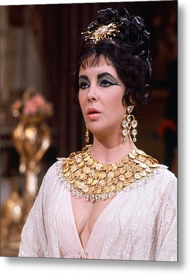 Elizabeth Taylor Metal Print by Silver Screen