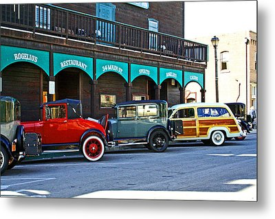 34 Main St Isleton Metal Print by Joseph Coulombe