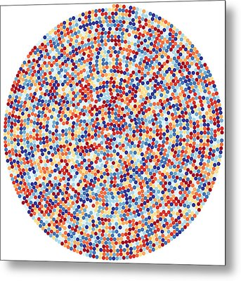 3422 Digits Of Pi Metal Print by Martin Krzywinski