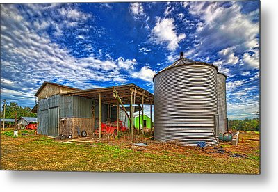 Metal Print featuring the photograph 3512-8-201 by Lewis Mann