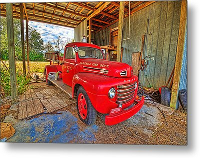 Metal Print featuring the photograph 3561-7-201 by Lewis Mann