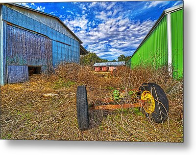 Metal Print featuring the photograph 3589-95-201 by Lewis Mann