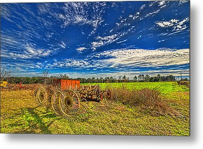 Metal Print featuring the photograph 3596-602-201 by Lewis Mann