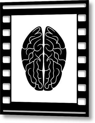 35mm Brain Metal Print