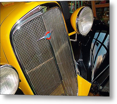 37 Chevy Panel Delivery Metal Print by John Bushnell