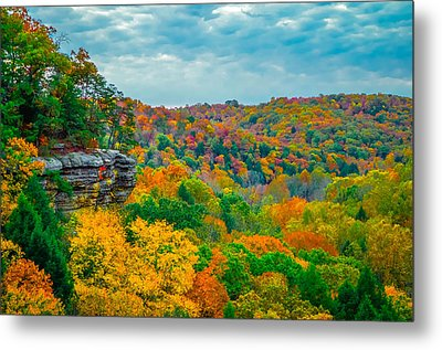 Conkle's Hollow Metal Print by Brian Stevens