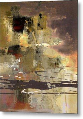 Abstract Metal Print by Lee Ann Asch