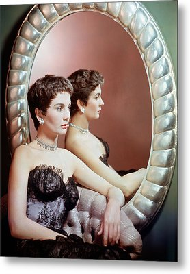 Jean Simmons Metal Print by Silver Screen