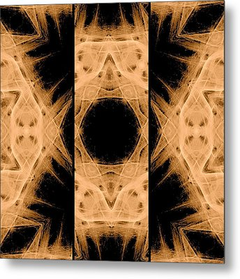 3d Abstract Fractal Metal Print by Maggie Vlazny