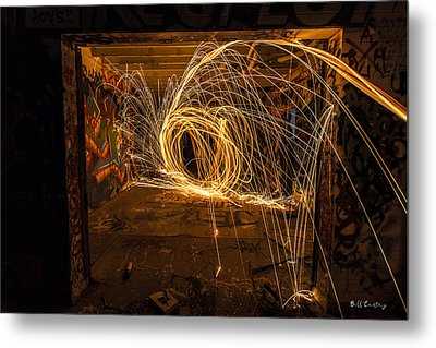 3d Fire Metal Print by Bill Cantey