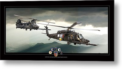 3rd Battalion Special Ops Metal Print by Larry McManus