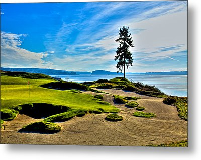 #15 At Chambers Bay Golf Course - Location Of The 2015 U.s. Open Tournament Metal Print