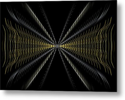 Abstract 100 Metal Print by J D Owen
