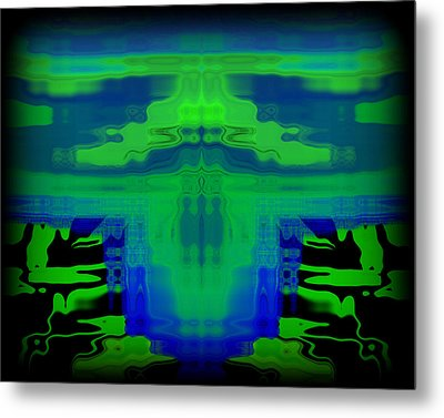 Abstract 101 Metal Print by J D Owen