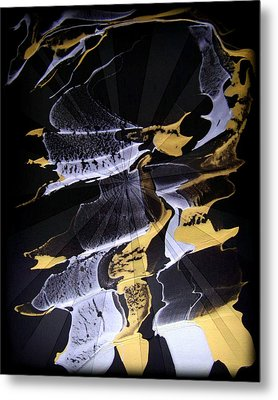 Abstract 31 Metal Print by J D Owen
