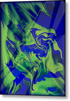 Abstract 32 Metal Print by J D Owen