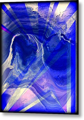 Abstract 36 Metal Print by J D Owen