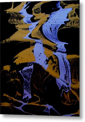 Abstract 37 Metal Print by J D Owen