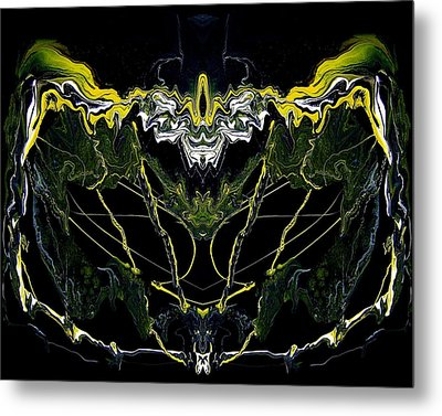 Abstract 42 Metal Print by J D Owen