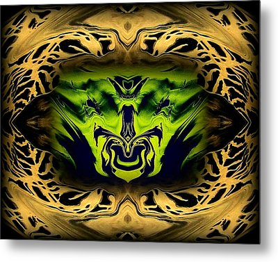 Abstract 52 Metal Print by J D Owen