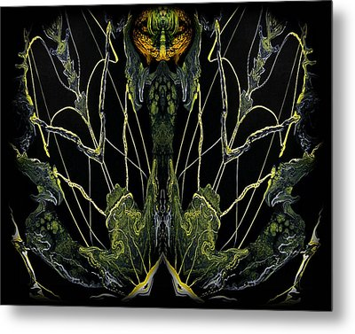 Abstract 92 Metal Print by J D Owen