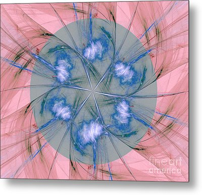 Abstract Background  Metal Print by Odon Czintos