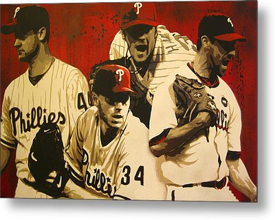 4 Aces Metal Print by Bobby Zeik