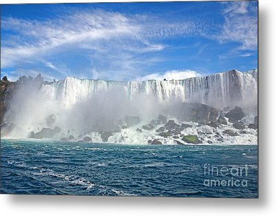 American Falls Metal Print by Charline Xia