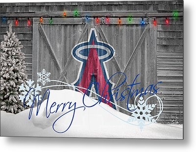 Anaheim Angels Metal Print by Joe Hamilton