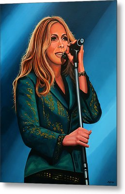Anouk Painting Metal Print by Paul Meijering