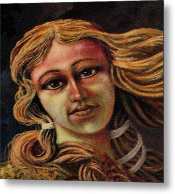 Aphrodite-venus Metal Print by Genio GgXpress