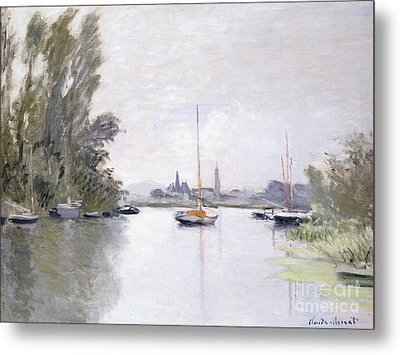 Argenteuil Metal Print by Claude Monet
