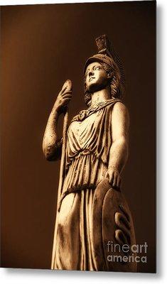 Athena Metal Print by Altay Suleyman