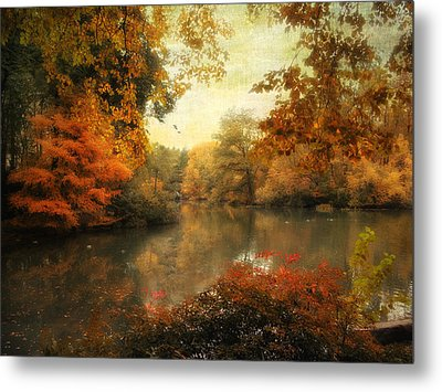 Autumn Afternoon  Metal Print by Jessica Jenney