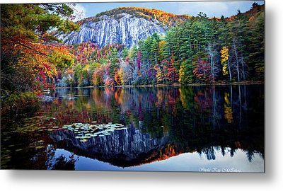 Bald Rock Mountain Nc Metal Print