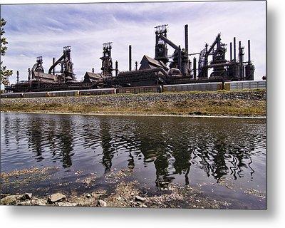 Bethlehem Steel Metal Print by Michael Dorn
