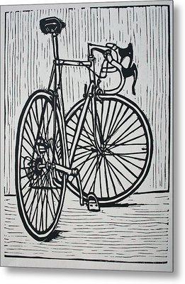 Bike 4 Metal Print by William Cauthern