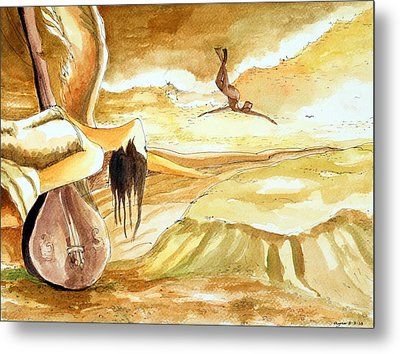 Birth Of A Song Metal Print by Ayan  Ghoshal
