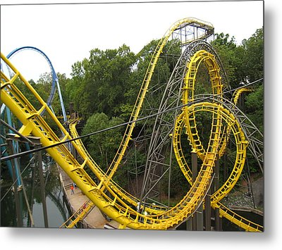 Busch Gardens - 12125 Metal Print by DC Photographer