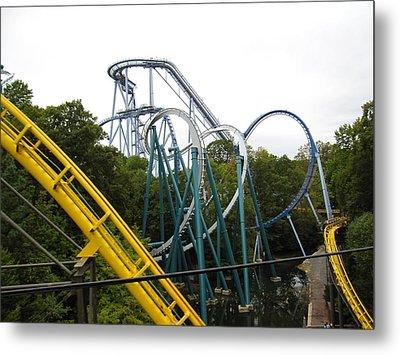 Busch Gardens - 12126 Metal Print by DC Photographer
