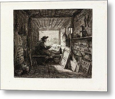 Charles-françois Daubigny French, 1817 - 1878 Metal Print