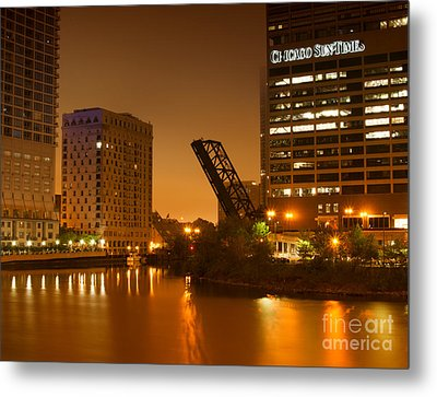Chicago Metal Print by Miguel Winterpacht